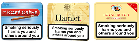 Café Crème, Hamlet and Royal Dutch, three of the big players in miniature cigars. By some estimates miniatures now account for approaching 70% of volume sales of cigars. A number of observers also track a significant move by cigar consumers to value-for-money brands of miniatures.