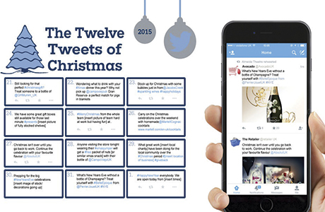 12 Christmas tweets for retailers from Pernod Ricard UK