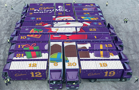 TV chocolate countdown