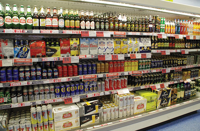 MSP Dr Richard Simpson's bill to further restrict alcohol marketing and retailing will not be supported by the Scottish Government.