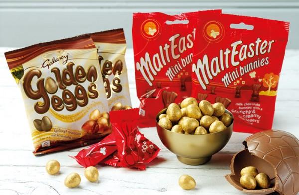 Mars goes for Easter season gold