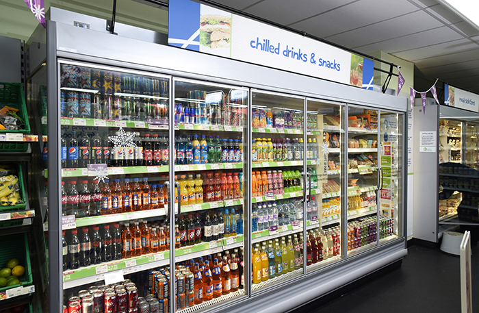 Grants of up to £5,000 are being made available for convenience stores to install approved energy-efficiency improving equipment.