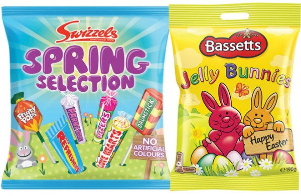 Bags of new candy choice