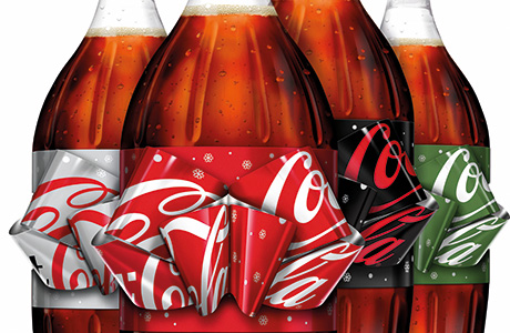 Limited edition festive Coke bottle launched