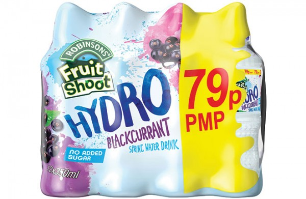 New style for Hydro adds price-marked packs