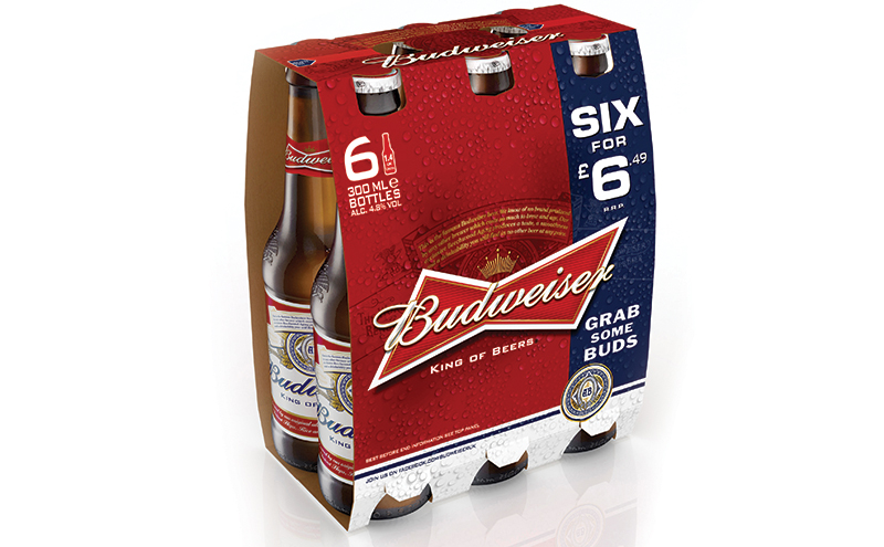 Budweiser 6x300ml NRB PMP