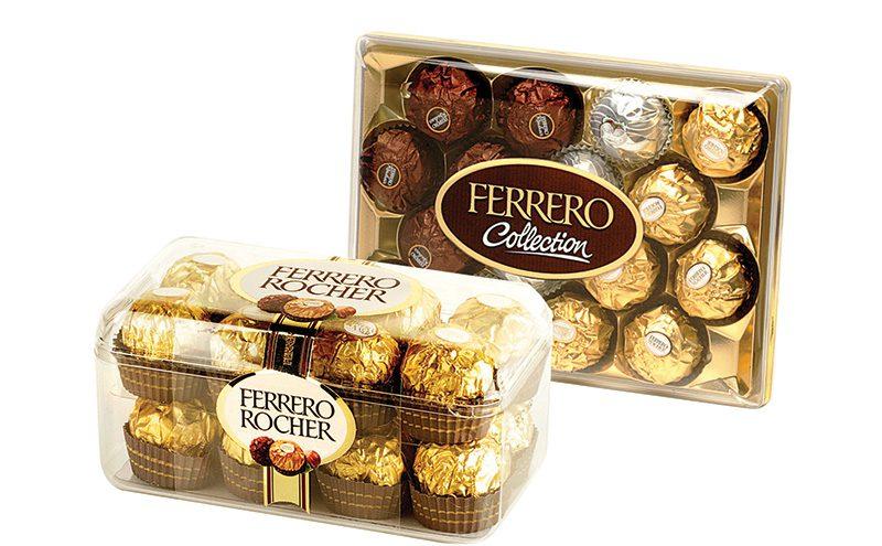 Ferrero Collection & Rocher T16