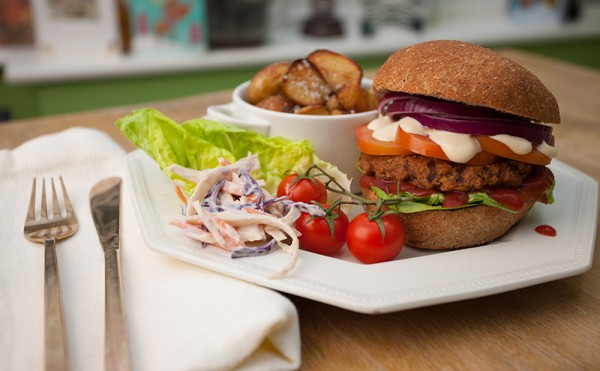 More Than Meet launches vegan Jerk Burger