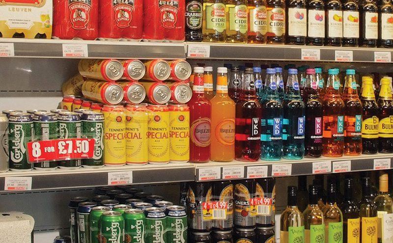 Spar Polbeth drinks fixture cropped vertical