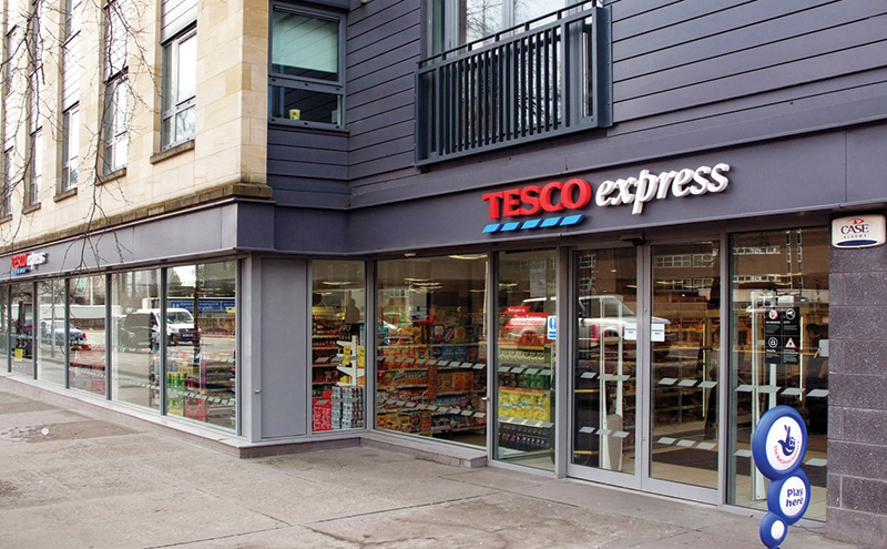 Tesco Express North street Glasgow
