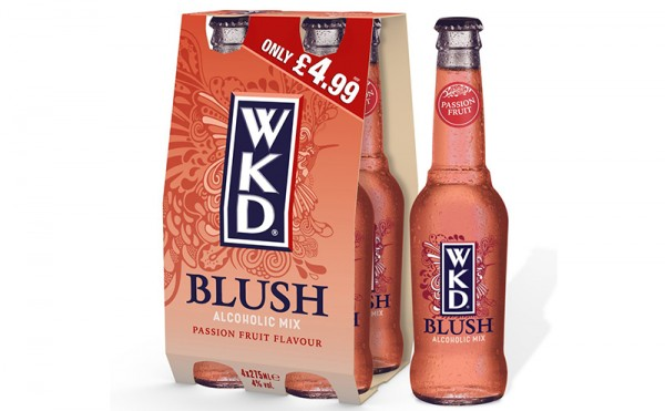 WKD aims to create a rush for blush