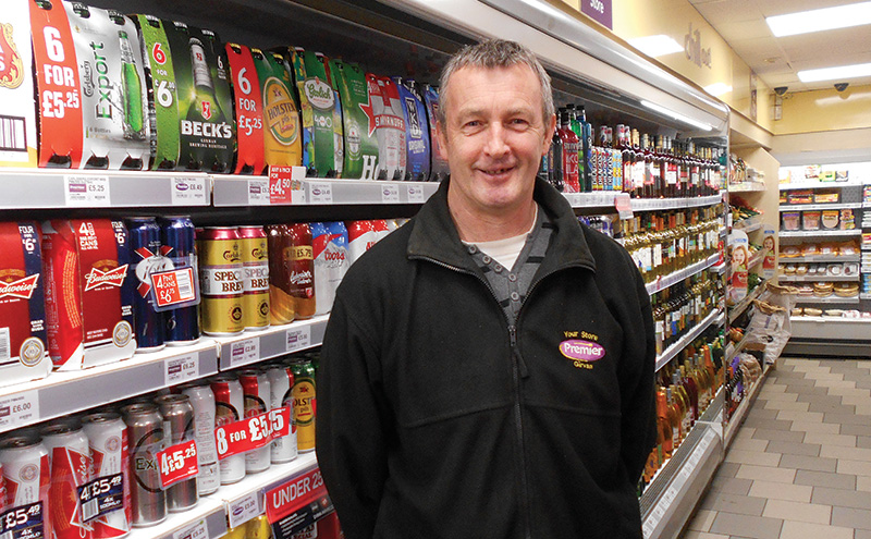 Premier, The Village Store, Drongan, Ayrshire