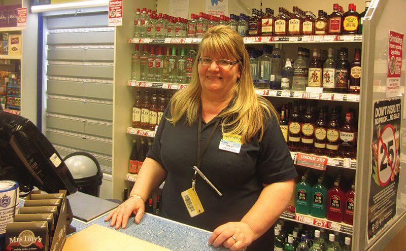 Tracy McNeil , Clydebank Co-operative Kilbowie Keystore
