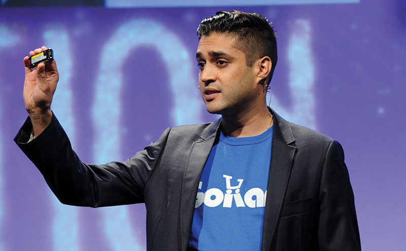 Anx Patel of GoKart, pictured at last year's SWA conference, where he educated suppliers, wholesalers and retailers on the benefits of mobile technology.