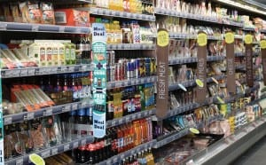 The value of food sales fell in February, according the SRC KPMG Retail Sales Monitor. But the performance was one of the best in the last year.