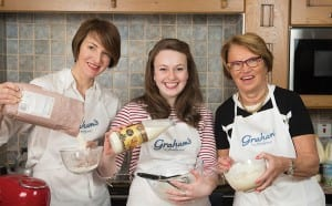Graham's The Family Dairy are announcing that Great British Bake Off 2015 semi-finalist Flora Shedden is to be a new ambassador for the Dairy.  The partnership will see Flora create a number of exclusive recipes for Graham's using their classic baking ingredients of butter, milk, cream, cheese etc in new and creative ways, as well as highlighting the quality of these ingredients and the brand's provenance.