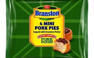 Pork Farms 4pk Branston Mini Pork Pies