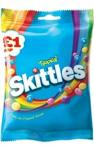 Wrigley says the £1 price point can increase sales and that its price-marked pack sales increased by 49% following the addition of Skittles and Starburst hanging bags.