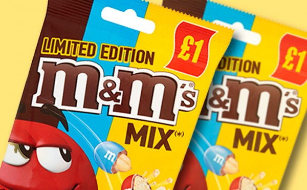 M&M's mix it up for new limited edition