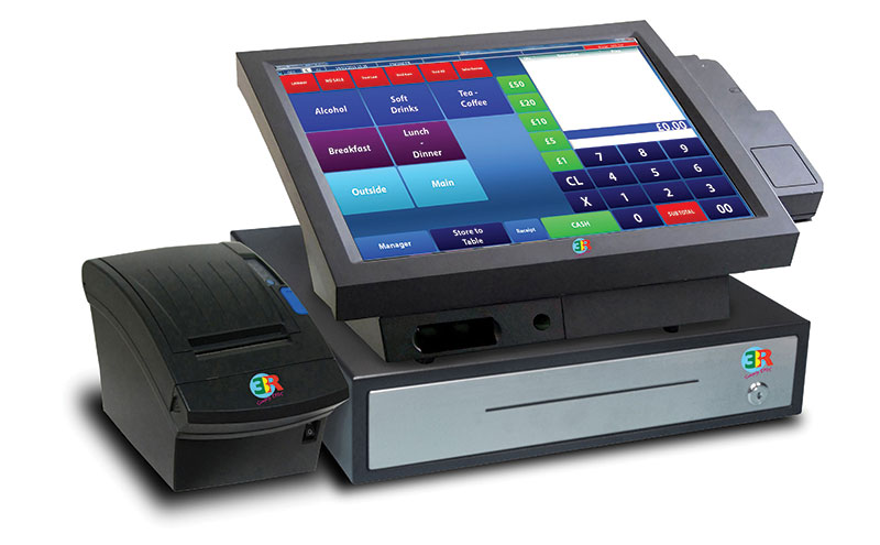 The 3R Epos system comes integrated with mobile top-ups and international calling cards and can be customised with personal screen designs.