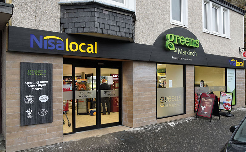 Good News supermarket, in Balbirnie Street, underwent a major refit last year, re-opening as Greens of Markinch, part of the Eros Retail chain of Nisa stores.