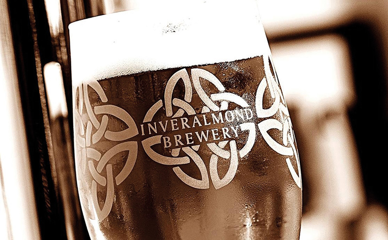 Inveralmond beers, set to be joined by Innis & Gunn.