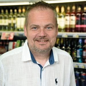 Tweed Road Stores is the first standalone convenience store to be owned and operated by Adam Purves Galashiels Ltd. Forecourts manager Richard Garrie (above) was responsible for the development.