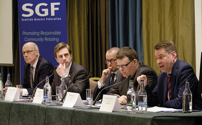 Leading Scottish election candidates from the main parties answer questions at the SGF pre-election Big Debate.
