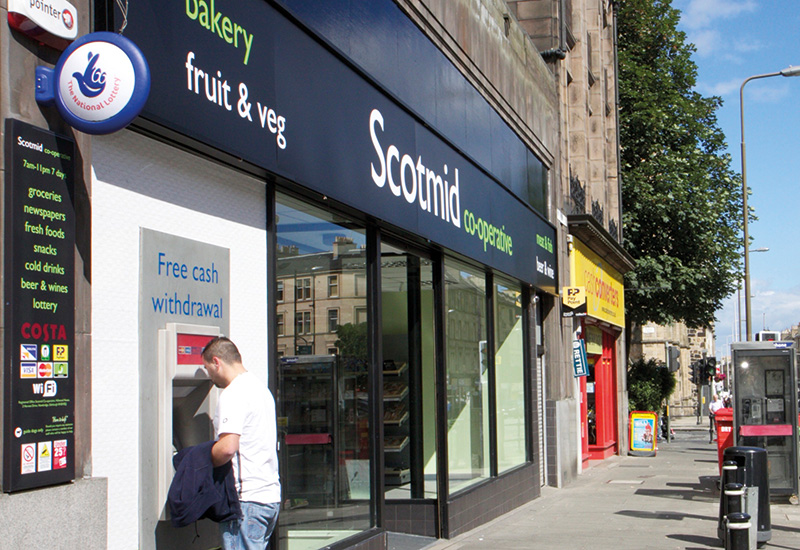 Scotmid doesn't release like-for-like performance figures or split figures for the constituent parts of the business. But the Society said its retail operations had performed well in a very tough market.