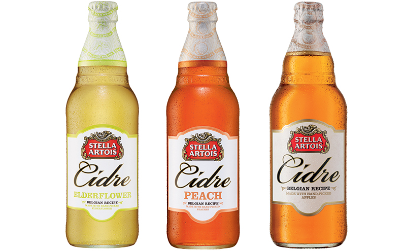 Apple cider is still the biggest seller in Scottish off-trade but flavours do especially well in summer, says Stella Artois Cidre brand owner AB Inbev.