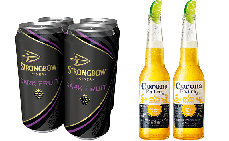 """While summer doesn't see an overall boost in total food and drink sales some items regularly sell better in the warmer months, including cider and beer. Last year two of the fastest growing drinks brands in Scottish off-trade were Strongbow Dark Fruit and Corona. RTDs also do well in summer. In soft drinks one of the biggest sales boosts from the """"summer effect"""" is seen in fruit squashes. Around six in every 10 shoppers will buy squash over the summer months."""