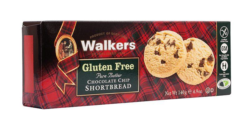 Walkers Gluten Free Choc Chip