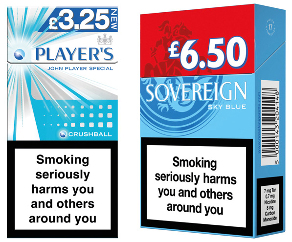 Since 20 May this year tobacco firms have no longer been able to produce 10s 17s 18s or any cigarettes packs of less than 20 sticks for EU markets. The minimum production size for rolling tobacco packs is now 30g. By 20 May next year retailers will have to stop selling packs that don't meet the new rules. It also looks increasingly likely that in the UK standardised packs (often called plain packs) will be the only cigarette and tobacco packs allowed to be sold.