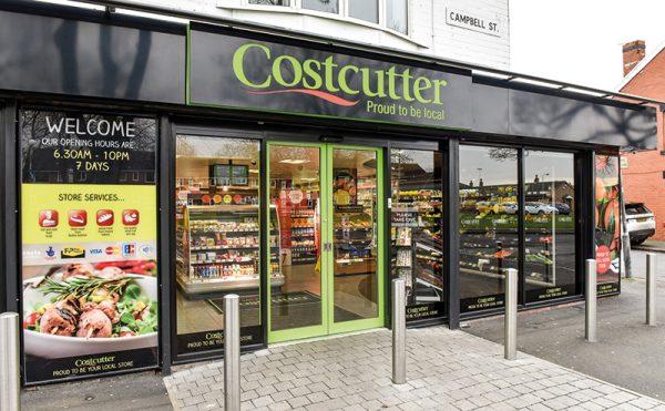 Sales slip at Costcutter