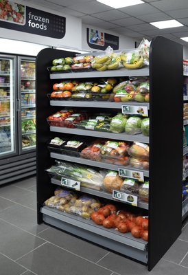 Food volumes were up in May but sales value was down on last year.