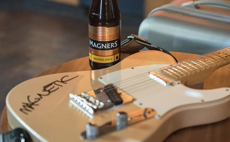 As part of its Hold True campaign Magners has created a series of TV ads featuring musicians playing their versions of the Rolling Stones' I'm Free.