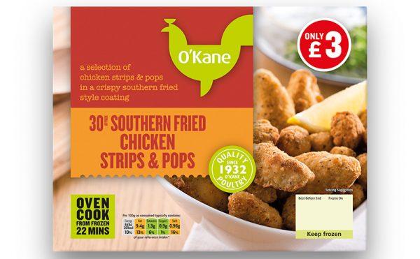 New O'Kane Frozen Range Listings Secured in GB