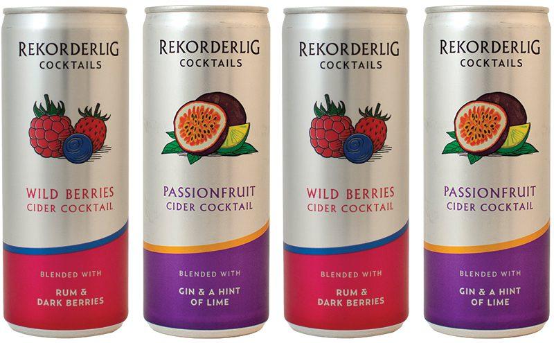 ... UK, launched its new range of Rekorderlig Cider Cocktails recently