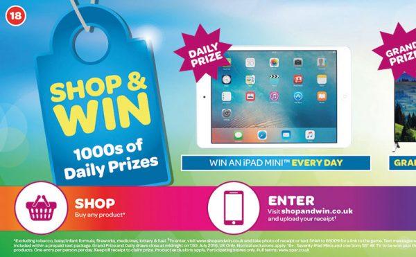 Spar stores see return of Shop & Win