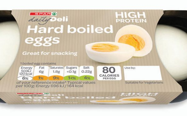 Spar launches the chicken and the eggs