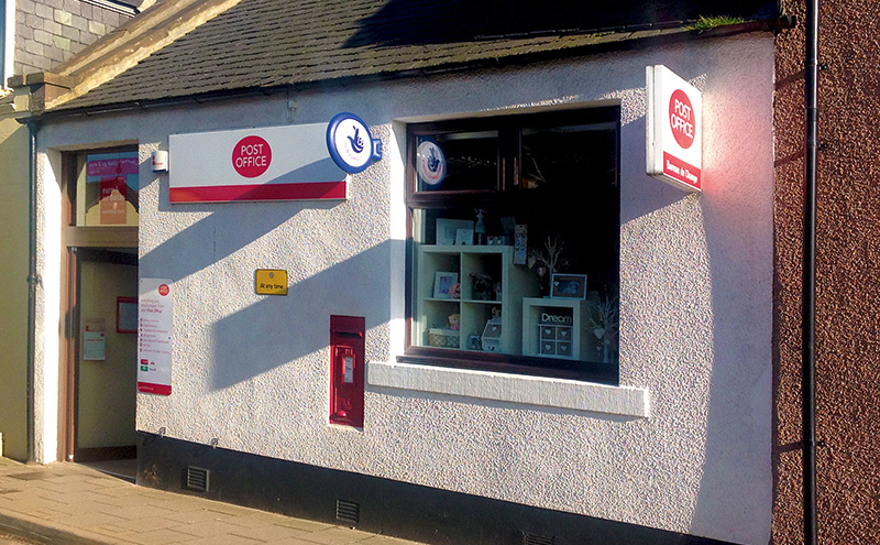 Post Office branches are now included in retail outlets of all sizes across the United Kingdom.