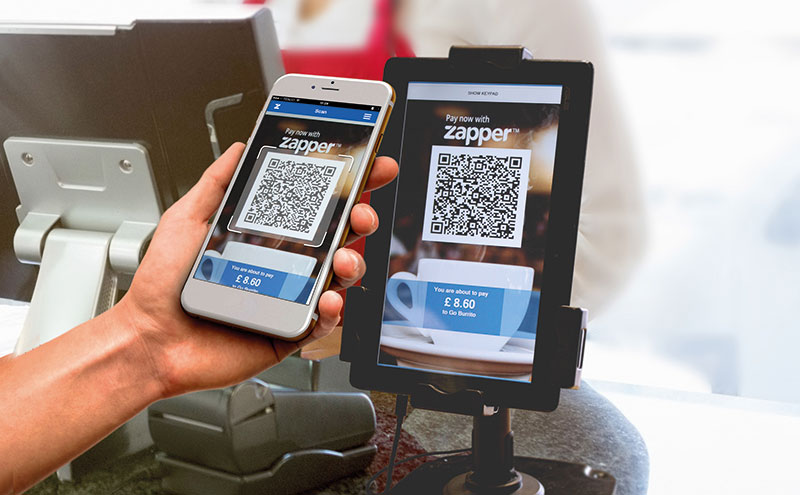 Zapper claims to be revolutionising retail with its new pay-at-counter solution, with which retailers can instantly reward loyal shoppers with targeted in-app offers and incentives.