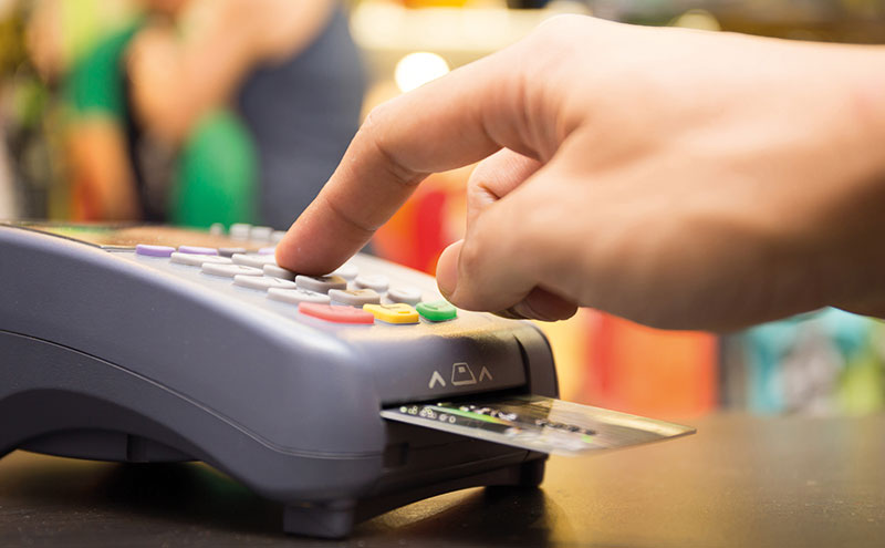 Research data shows that despite a significant rise in contactless payments, shoppers still trust chip and pin more, opting for that rather than tapping the contactless pad when it comes to transactions over £10.