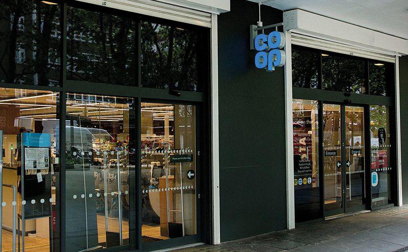Co-op Old Street rebranding launch.