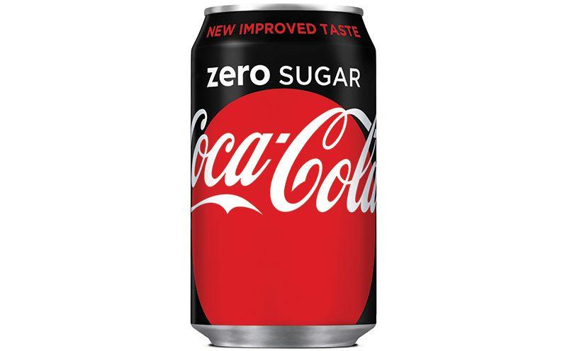 Coca-Cola Zero Sugar 330ml can
