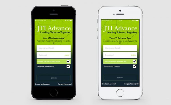 JTI Develops new app for retailers facing TPD2 changes
