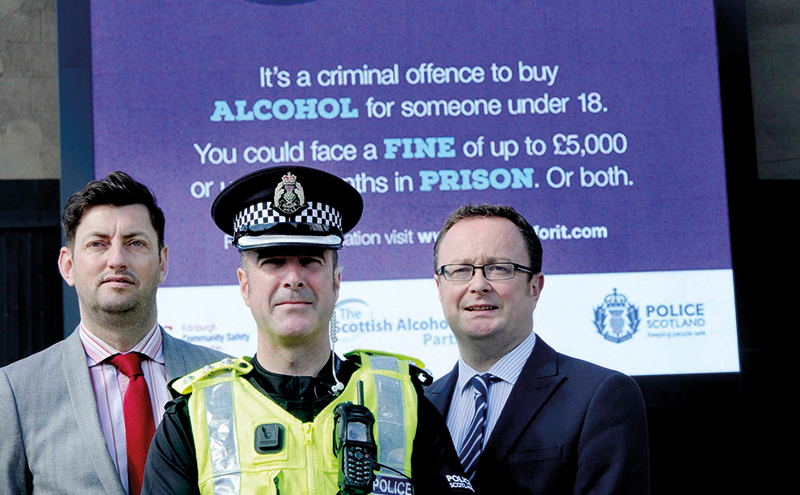 SGF's John Lee, right, and partners launch the Leith proxy purchasing campaign.