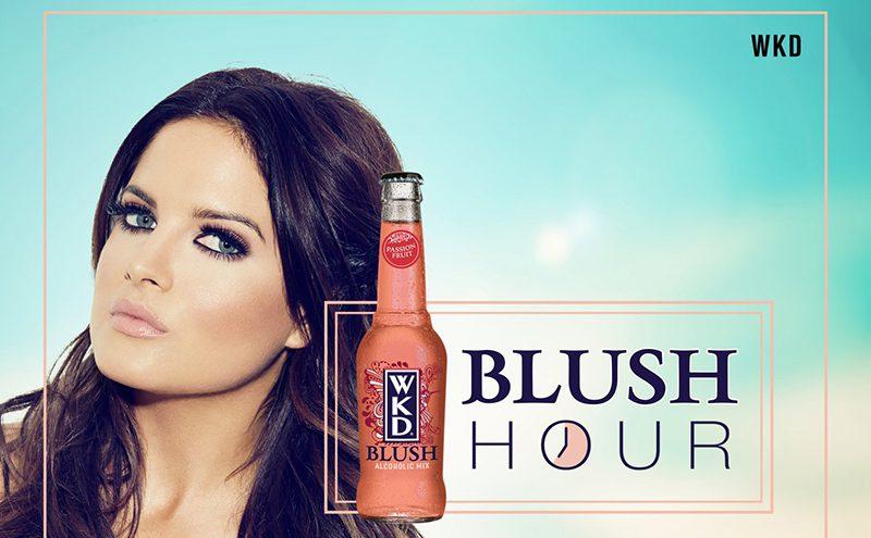 WKD Blush Hour - Binky Felstead