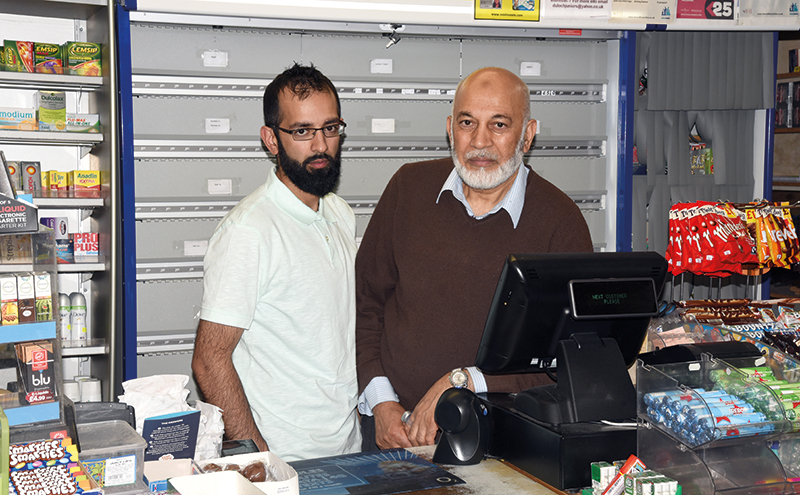 Saqib and Mohammed Sharif have plans to extensively refurbish their store, which has served the local community for 37 years