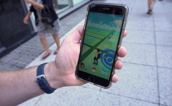 Catch customers with Pokémon